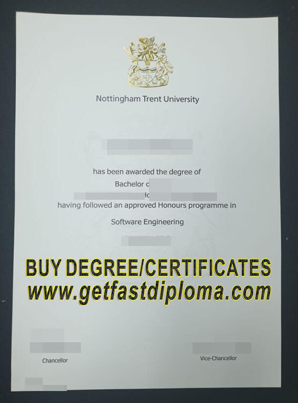 NTU fake diploma sample