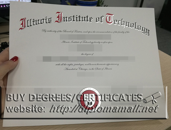 buy Illinois Institute of Technology(IIT)diploma certificate