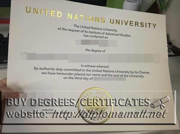 buy fake United Nations University diploma, buy fake degrees