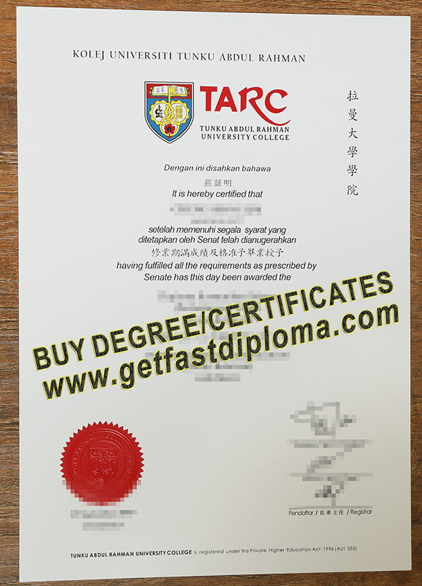 buy a fake UTARC degree