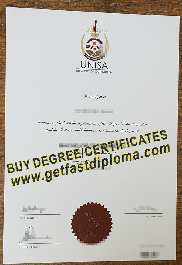buy University of South Africa diploma , fake deree