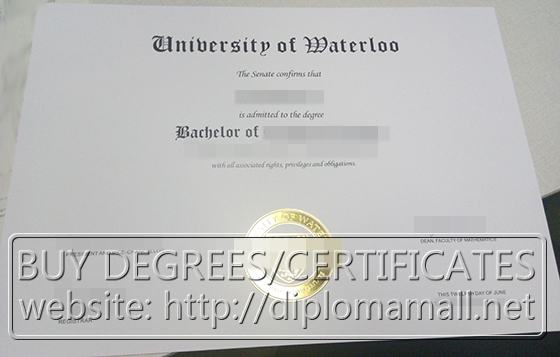 University of Waterloo (UW) degree