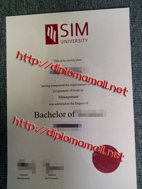 SIM University degree
